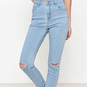PacSun High-Rise Denim Skinny Jeans